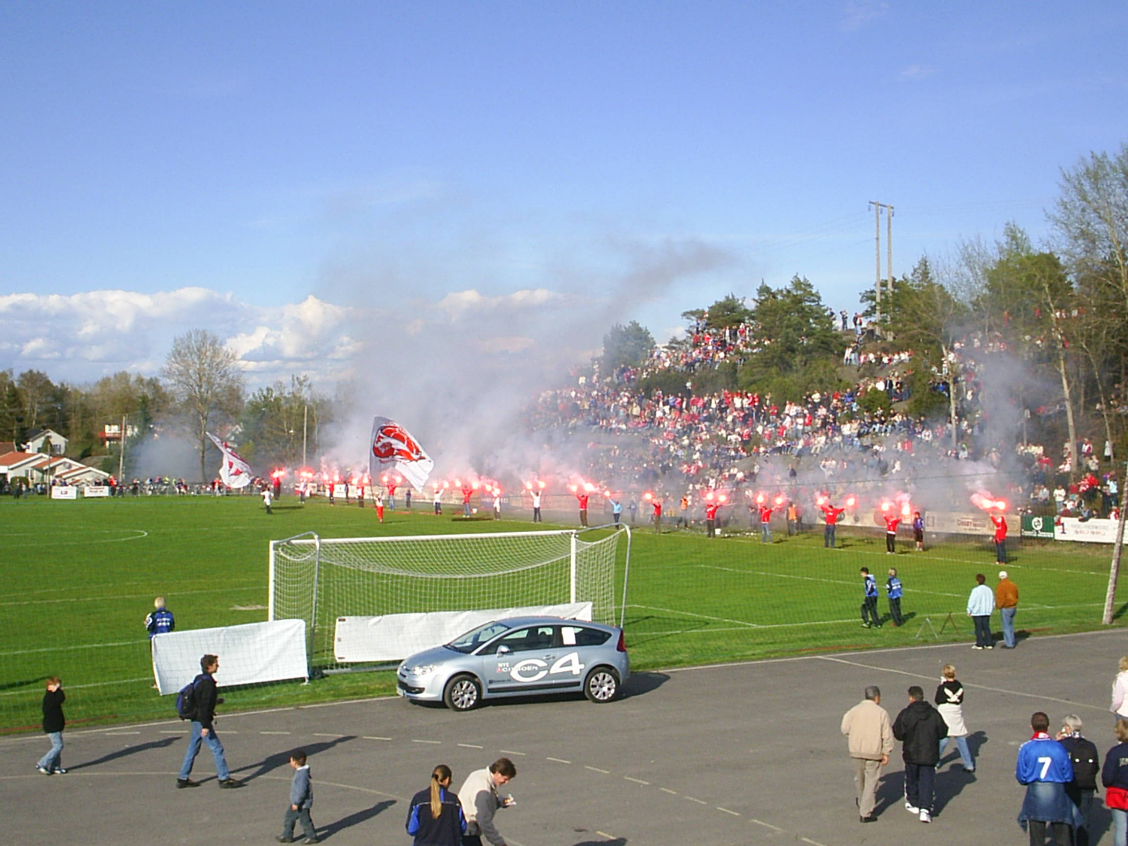 2005 - 1. runde i cupen mot FFK