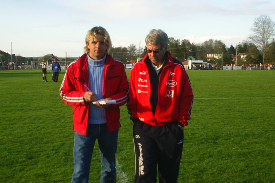 Drillo intervjues av Fredriksstad Blad.