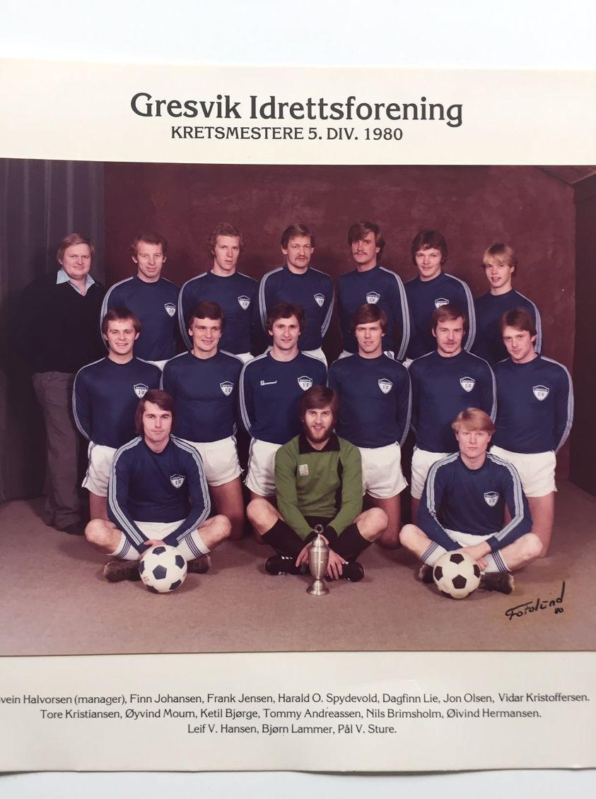 1980 Kretsmestere 5 div