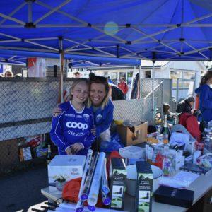 Turneringer - her Jenteturnering 2018. FV: Emma og Therese Borg