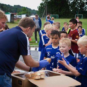 Fotball dagen 2019 i samarbeid med Konsum Gruppen Norge AS