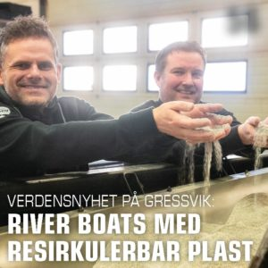 Verdensnyhet på Gressvik - RiverBoats.